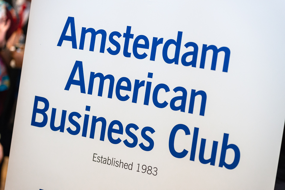 Successful meeting at the Amsterdam American Business Club