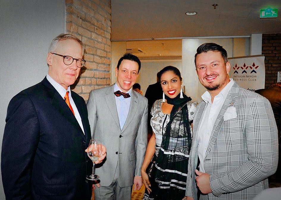 Successful networking at the Amsterdam American Business Club