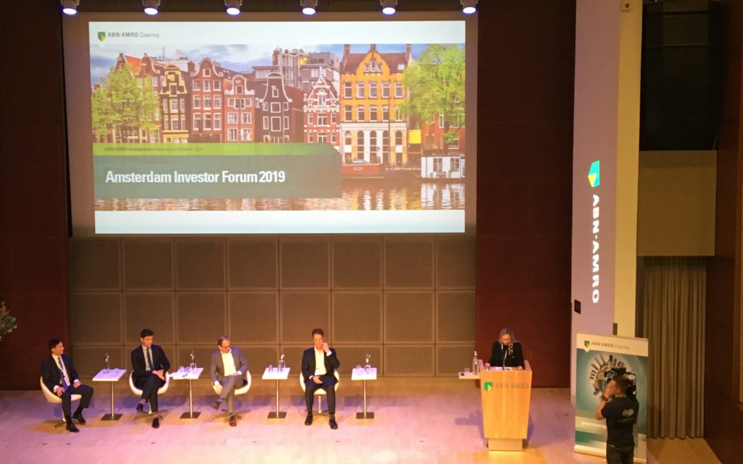 Panel during the ABN AMRO - Amsterdam Investor Forum 2019